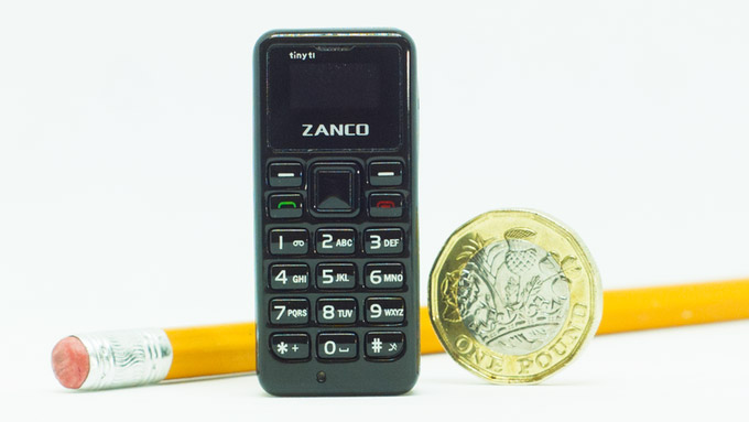 The World's Smallest Phone – Zanco tiny t1