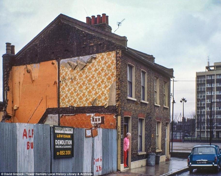 Nostalgic photos of east London