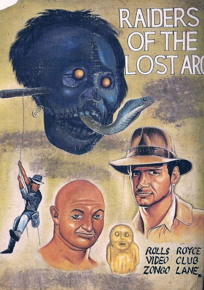 11 - Super Dramatic Homemade African Movie Posters From 1980s