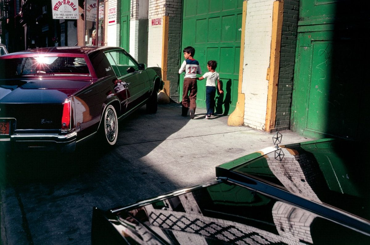 Kodachrome Photos Taken By A Shy Student In 1980s NYC