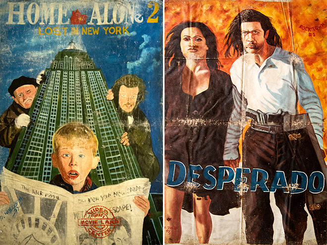 4 - Super Dramatic Homemade African Movie Posters From 1980s