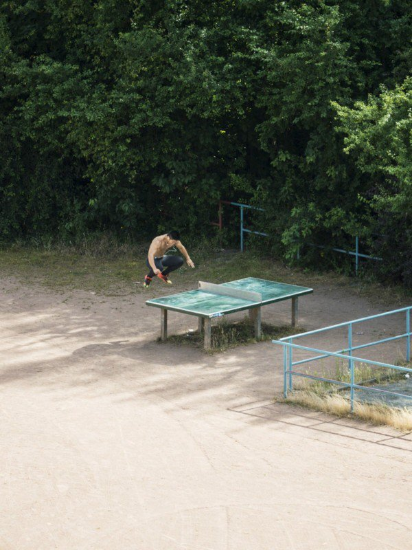 4 - Photographer Spies On A Public Ping-Pong Table For 5 Years