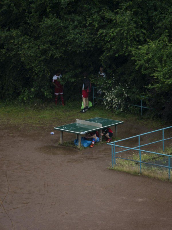 7 - Photographer Spies On A Public Ping-Pong Table For 5 Years