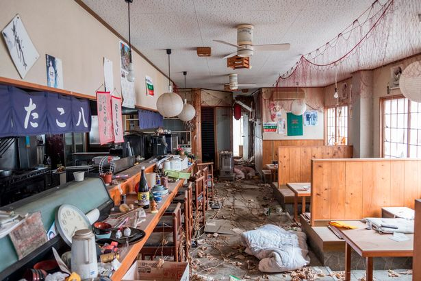 PAY Abandoned Fukushima 1 - Eerie pictures show the desolate streets of Fukushima, seven years after nuclear disaster