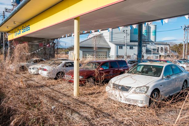 PAY Abandoned Fukushima 3 - Eerie pictures show the desolate streets of Fukushima, seven years after nuclear disaster