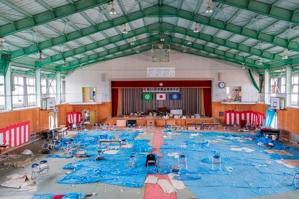 PAY Abandoned Fukushima 5 - Eerie pictures show the desolate streets of Fukushima, seven years after nuclear disaster