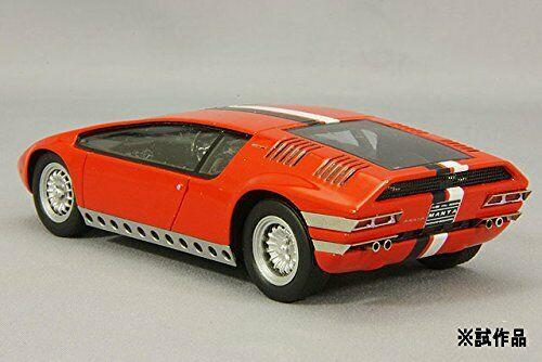 Spark 143 Bizzarrini Manta Red Tokyo Racing Car Show 1969 rear - Classic Concepts: 1968 Bizzarrini Manta