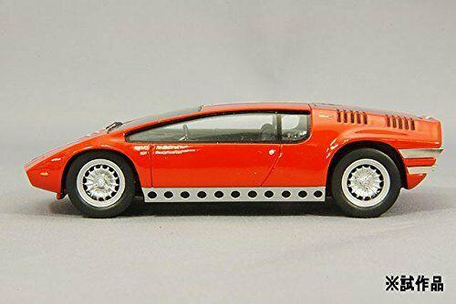 Spark 143 Bizzarrini Manta Red Tokyo Racing Car Show 1969 side - Classic Concepts: 1968 Bizzarrini Manta