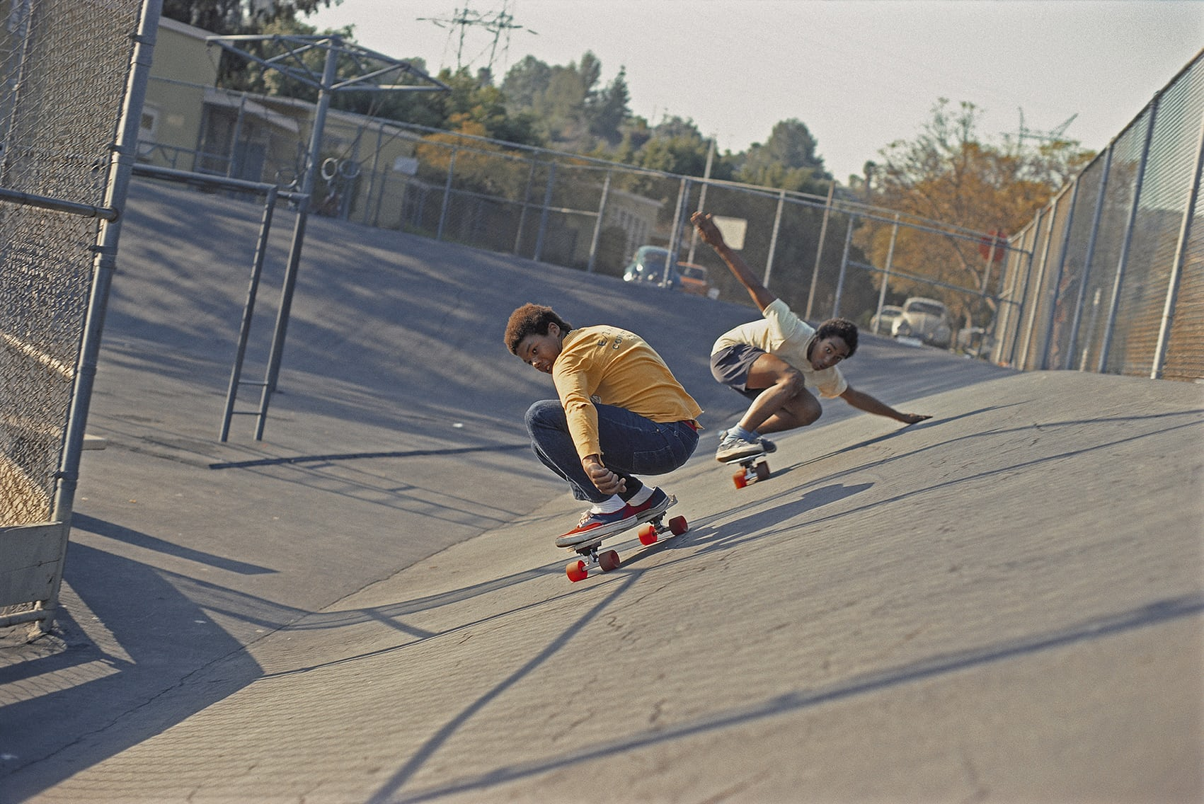 Face-plants and vert ramping: the evolution of skateboarding photography