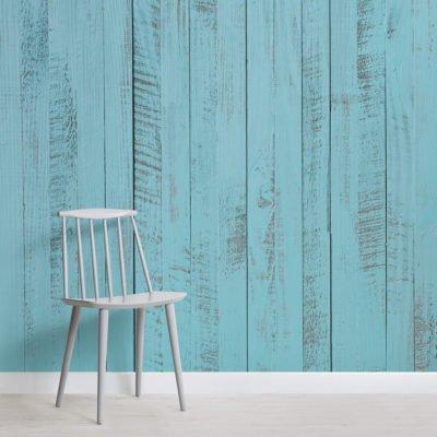 aegean blue wood textures square 400x400 - Brutalist Welbreck Street Mural Wallpaper - Murals Wallpaper