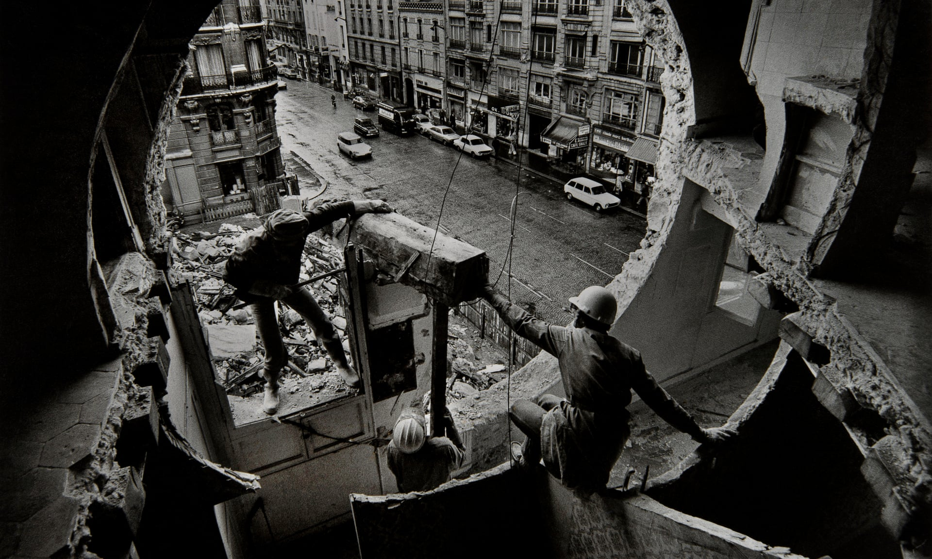 How Gordon Matta-Clark took a chainsaw to 70s New York