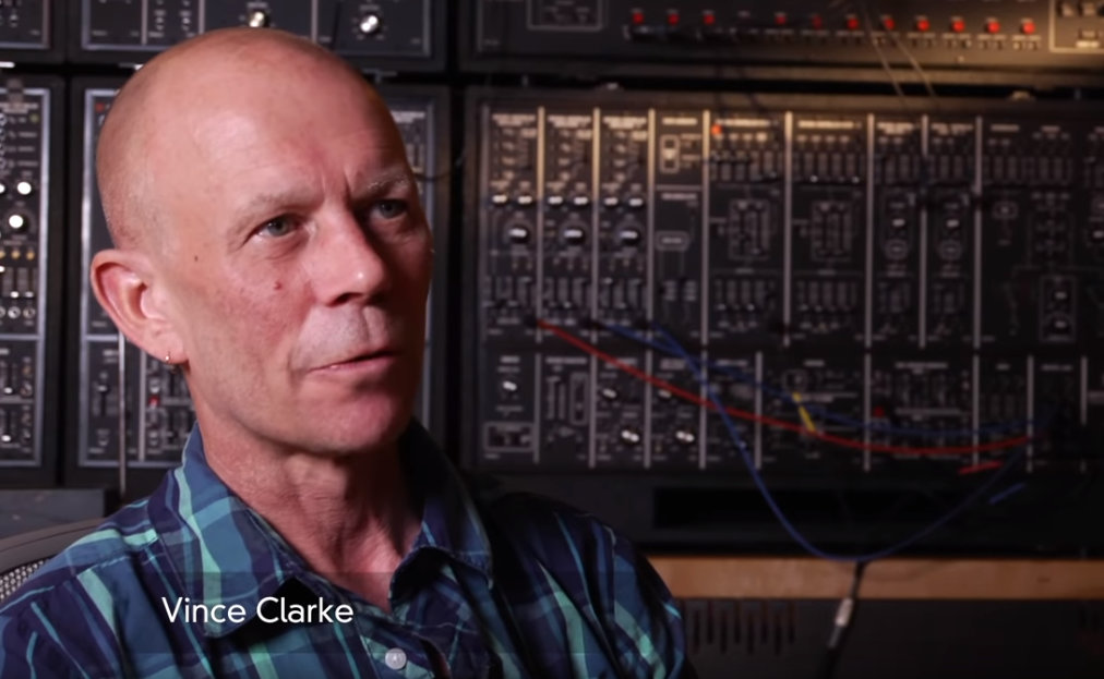 vince clarke - Vince Clarke of Depeche Mode talks synths