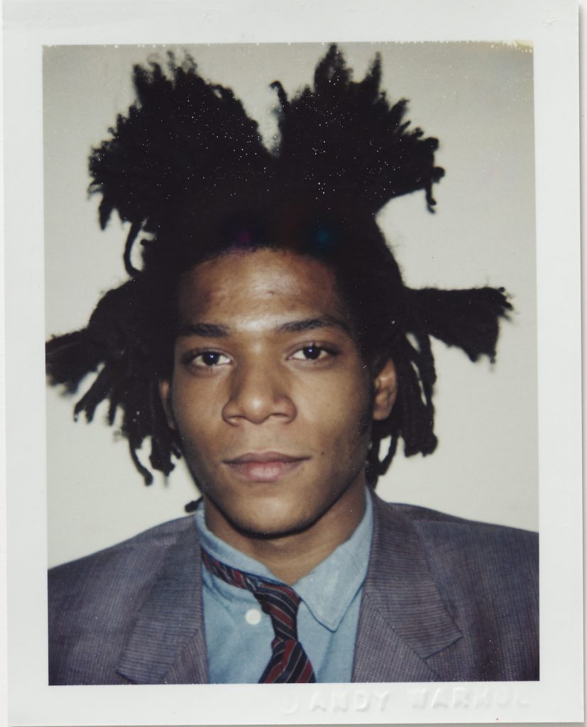 Andy Warhol Jean Michel Basquiat 1982 Polacolor ER 10.8 x 8.5 cm.© 2018 The Andy Warhol Foundation for the Visual Arts Inc. Licensed by DACS London. Courtesy BASTIAN London 827x1024 - Andy Warhol's Polaroid Pictures – British Journal of Photography