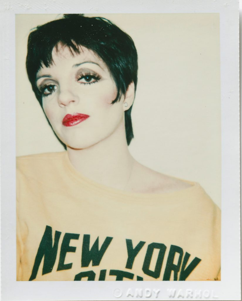 Andy Warhol Liza Minelli 1977 Polacolor Type 108 10.8 x 8.5cm © 2018 The Andy Warhol Foundation for the Visual Arts Inc. Licensed by DACS London. Courtesy BASTIAN London 825x1024 - Andy Warhol's Polaroid Pictures – British Journal of Photography