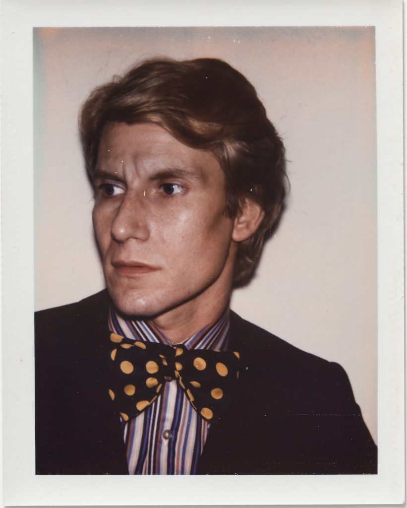 Andy Warhol Yves Saint Laurent 1972 Polacolor Type 108 10.7 x 8.5 cm. © 2018 The Andy Warhol Foundation for the Visual Arts Inc. Licensed by DACS London. Courtesy BASTIAN London 821x1024 - Andy Warhol's Polaroid Pictures – British Journal of Photography
