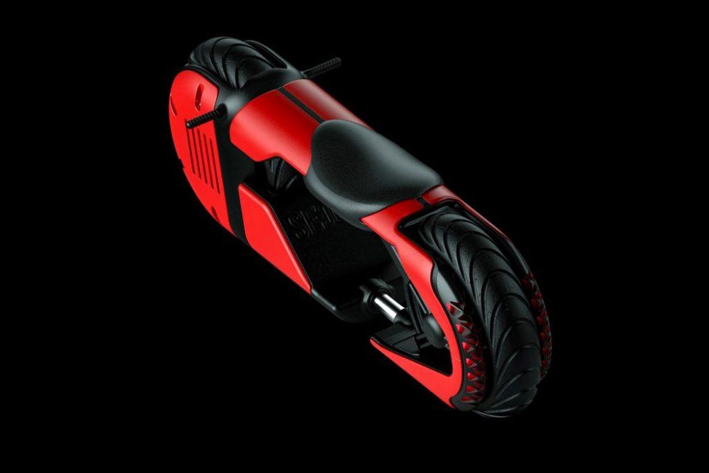 sedov b1 1 1024x683 - A motorbike that looks… un-bikely