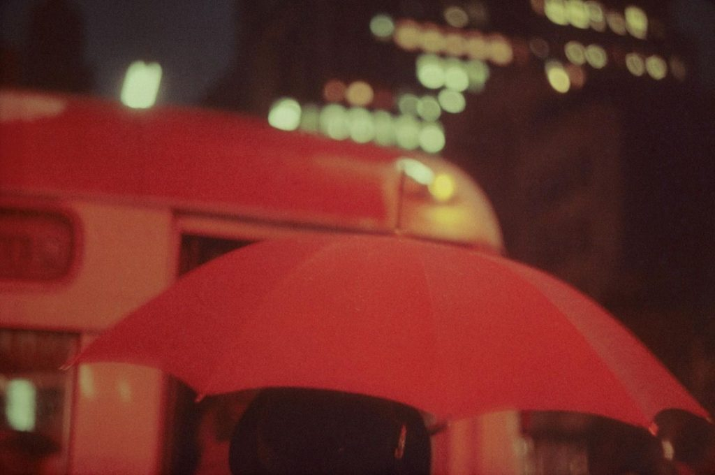 saul leiter red umbrella 1024x680 - Why Saul Leiter Kept His Colourful Street Photography Secret for Decades